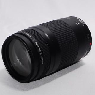 キヤノン(Canon)の⭐遠くの撮影もバッチリ⭐Canon 75-300mm 大迫力の超望遠レンズ(レンズ(ズーム))