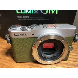 DMC-GM5 lumix 本体 グリーン(ミラーレス一眼)