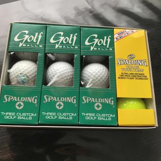 新品!ゴルフボール