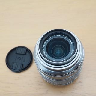オリンパス(OLYMPUS)の美品■M.ZUIKO DIGITAL 14-42mm F3.5-5.6 II R(レンズ(ズーム))