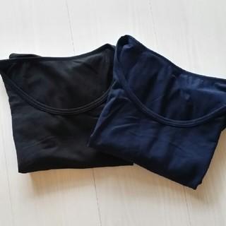 ジーユー(GU)の美品☆GU半袖Tシャツ☆2枚セット☆UNIQLO(Tシャツ(半袖/袖なし))