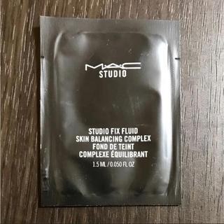 マック(MAC)のMAC スタジオ フィックス フルイッド SPF 15 NC25(サンプル/トライアルキット)