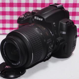 ニコン(Nikon)の⭐️ワクワクが止まらない⭐️Nikon D5000 レンズキット・豪華付属品多数(デジタル一眼)