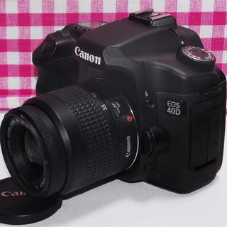 キヤノン(Canon)の✨羨望のCanonハイエンドモデル✨Canon EOS 40D レンズキット♪♪(デジタル一眼)