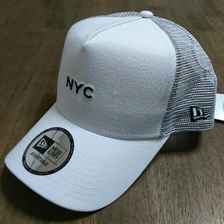 ニューエラー(NEW ERA)のニューエラ NewEra ロゴキャップ NYC 白 ホワイト(キャップ)