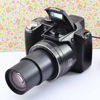 ✨Wifiでスマホに転送 &可愛い本格コンデジ✨ニコン COOLPIX P80(コンパクトデジタルカメラ)