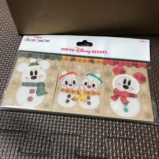 ディズニー(Disney)の新品♡ディズニー snowsnowメモセット(ノート/メモ帳/ふせん)