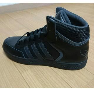 アディダス(adidas)の27.5cm ハイカット adidas アディダス スニーカー 黒(スニーカー)