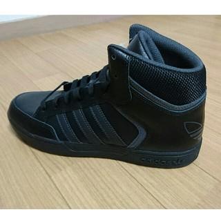 アディダス(adidas)の26.5cm ハイカット adidas アディダス スニーカー 黒(スニーカー)
