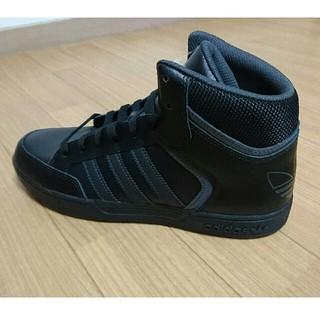 アディダス(adidas)の27cm ハイカット adidas アディダス スニーカー 黒(スニーカー)