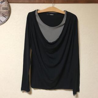 ハムネット(HAMNETT)の●HAMNETT 重ね着風 カットソー(Tシャツ/カットソー(七分/長袖))