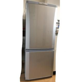 ミツビシ(三菱)の三菱ノンフロン 冷凍冷蔵庫 2ドア 取りに来てくれる方限定(冷蔵庫)