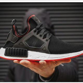 アディダス(adidas)のAdidas NMD_XR1 Core Black & Solar Red(スニーカー)