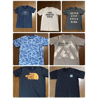 ザノースフェイス(THE NORTH FACE)のTHE NORTH  FACE Tシャツ 7枚セット(Tシャツ/カットソー(半袖/袖なし))