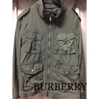 バーバリーブラックレーベル(BURBERRY BLACK LABEL)のBURBERRY BLACK LABEL ジャケット(ナイロンジャケット)