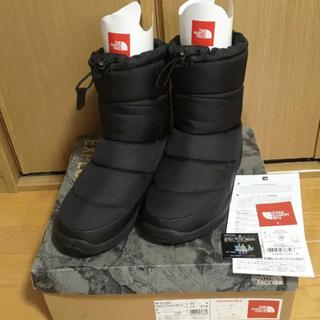 ザノースフェイス(THE NORTH FACE)の2回使用 美品 ノースフェイス スノーブーツ NF51585 ヌプシ 27cm(ブーツ)