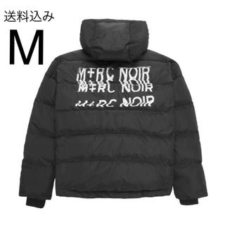 シュプリーム(Supreme)のM+RC NOIR BLACK DISTORTION DOWN JACKET(ダウンジャケット)