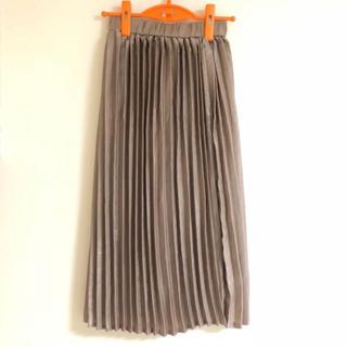 メルロー(merlot)のmerlot プリーツスカート(ひざ丈スカート)