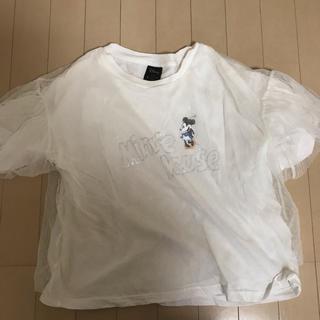 ジーユー(GU)のミニーマウス Tシャツ(Tシャツ(半袖/袖なし))