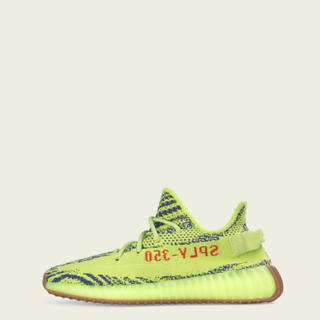 アディダス(adidas)のYEEZY BOOST 350 V2 SEMI FROZEN YELLOW 28(スニーカー)