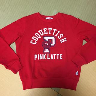 ピンクラテ(PINK-latte)のPink latte スウェット(Tシャツ/カットソー)