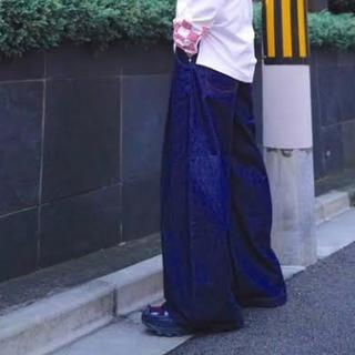 ミハラヤスヒロ(MIHARAYASUHIRO)のMyne EDWIN Wネーム デニムパンツ(デニム/ジーンズ)
