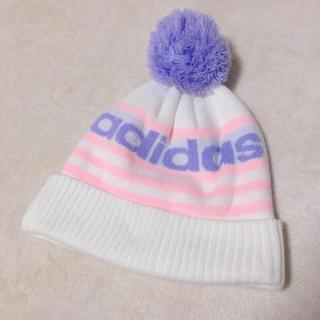 アディダス(adidas)のadidas♡ニット帽(ニット帽/ビーニー)