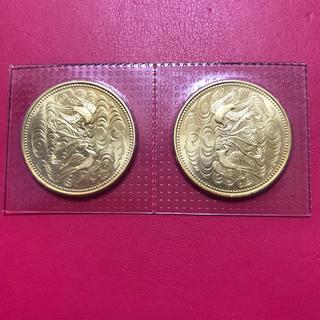 【専用】天皇陛下御在位60年記念10万円金貨  2枚  レターパックプラス送料込(貨幣)
