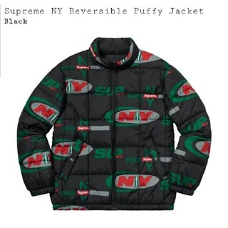 シュプリーム(Supreme)のsupreme ny reversible puffy jacket(ダウンジャケット)
