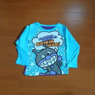 アンパンマン(アンパンマン)の【新品】お値下げ☆80㎝バイキンマン長袖Tシャツ(シャツ/カットソー)