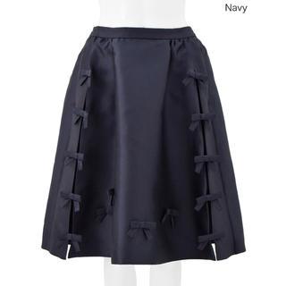 チェスティ(Chesty)のチェスティ☆リボンスカート(ひざ丈スカート)