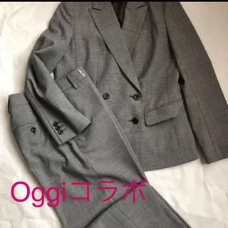 スーツカンパニー(THE SUIT COMPANY)のOggiコラボ スーツカンパニー パンツスーツ(スーツ)