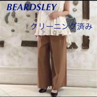ビアズリー(BEARDSLEY)のBEARDSLEY ラップチノ キャメル ワイドパンツ(バギーパンツ)