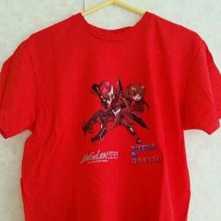 エヴァンゲリオン PUZZLE&DRAGONS パズドラ アスカ Tシャツ 3(キャラクターグッズ)