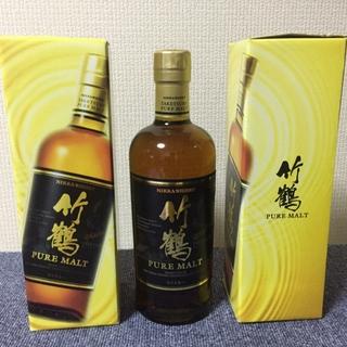 ニッカウイスキー(ニッカウヰスキー)のニッカウイスキー竹鶴ピュアモルト10本セット箱付き。(ウイスキー)