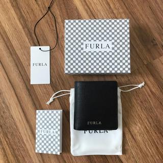 フルラ(Furla)の新品!フルラ 二つ折り財布 ブラック(財布)