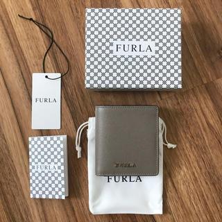 フルラ(Furla)の新品!フルラ 二つ折り財布 グレージュ(財布)