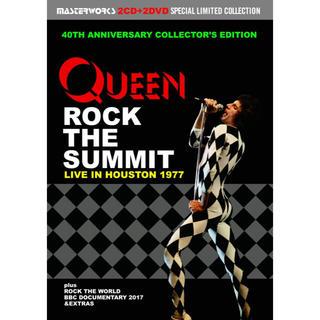QUEEN / ROCK THE SUMMIT プレス盤2CD+プレス盤2DVD(ミュージック)