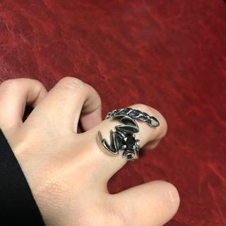 ブレス(BLESS)の【廃盤】スコーピオン シルバーリング【美品 レア】(リング(指輪))
