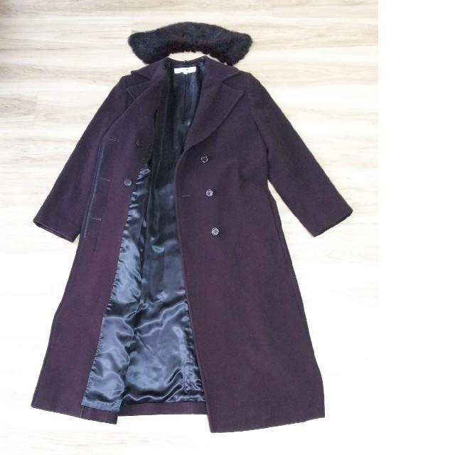 23区(ニジュウサンク)の美品♥️23区♥️ロングコート40 レディースのジャケット/アウター(ロングコート)の商品写真