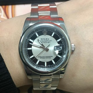 ロレックス(ROLEX)の美品 ロレックス腕時計 機械自動巻き 防水 未使用(腕時計(デジタル))