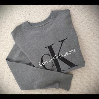 カルバンクライン(Calvin Klein)のカルバンクライン ロゴスウェットトップス(スウェット)