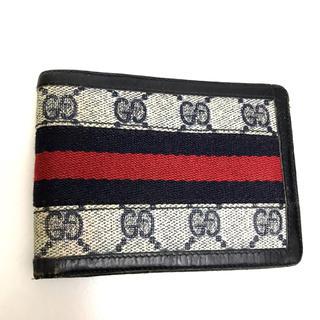 グッチ(Gucci)のGUCCI グッチ 財布 二つ折り財布 シェリーライン おしゃれ 使いやすい(財布)