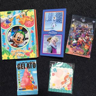 ディズニー(Disney)のディズニーメモ ふせんセット(ノート/メモ帳/ふせん)