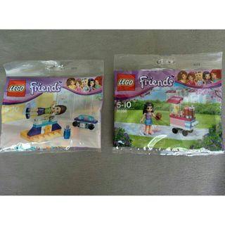 レゴ(Lego)の◆新品◆2セット◆LEGO【レゴ フレンズ】カップケーキワゴン&ダンスレッスン(積み木/ブロック)