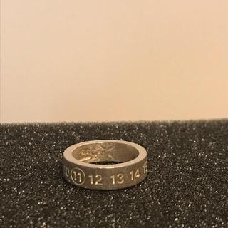 マルタンマルジェラ(Maison Martin Margiela)のマルタンマルジェラ ナンバーリング 指輪  サイズS (リング(指輪))