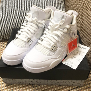 ナイキ(NIKE)のAIR JORDAN 4 RETRO PURE MONEY (スニーカー)