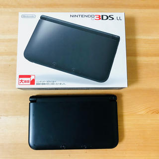 ニンテンドー3DS(ニンテンドー3DS)の3DSLL 本体(ブラック)(携帯用ゲーム本体)