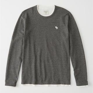 アバクロンビーアンドフィッチ(Abercrombie&Fitch)のLサイズ!アバクロ長袖Tシャツ(Tシャツ/カットソー(七分/長袖))
