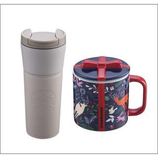 スターバックスコーヒー(Starbucks Coffee)のながこさま専用🎅スターバックス ロゴタンブラー+マグ セット(グラス/カップ)